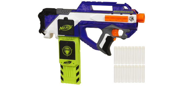 glow in the dark nerf gun