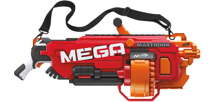 Nerf Mega Mastodon : The biggest and the baddest Nerf gun
