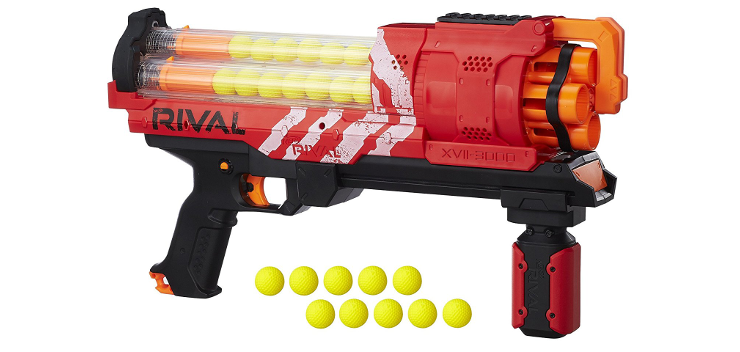 ... as a gun which fires NERF darts or as a gun casing for a Nintendo Wii  Remote. It does one of these things very well. Read the review to find out  which.