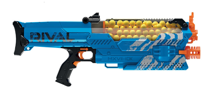 Nerf Rival Nemesis MXVII-10K : The most powerful Rival blaster till date
